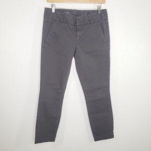 J Crew Women's Andie Pants Gray Size 4